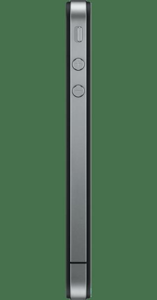 Apple iPhone 4 8GB Black side