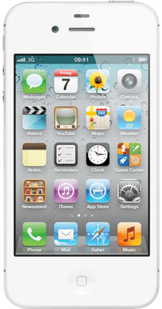 Apple iPhone 4S 8GB White front