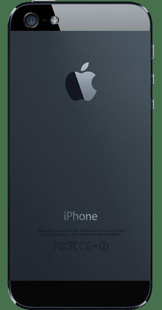 Apple iPhone 5 16GB Black back