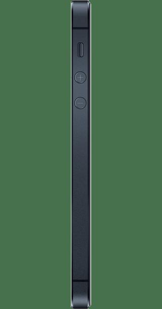 Apple iPhone 5 16GB Black side