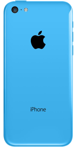 Apple iPhone 5c 16GB Blue back