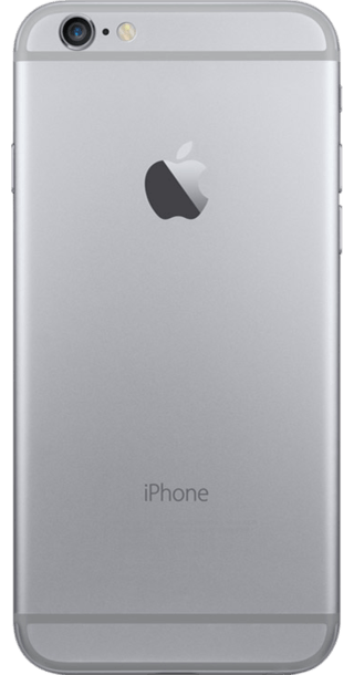 Apple iPhone 6 128GB Grey back