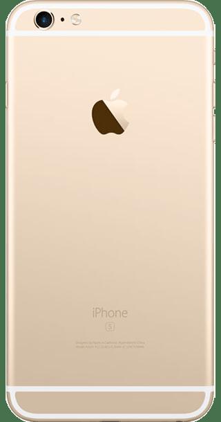 Apple iPhone 6s Plus 16GB Gold back