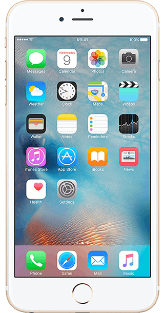 Apple iPhone 6s Plus 16GB Gold front