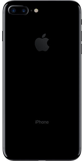 Apple iPhone 7 Plus 128GB Jet Black back