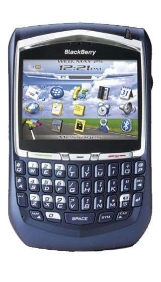 BlackBerry 8700v front