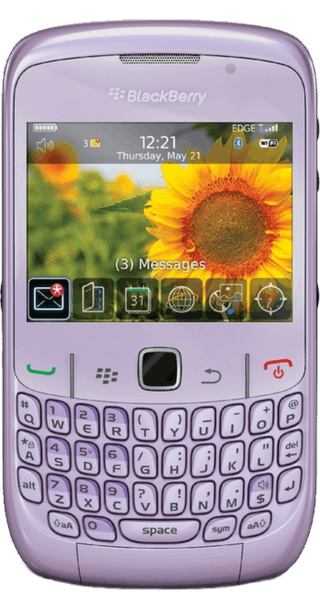 BlackBerry Curve 8520 Pink front