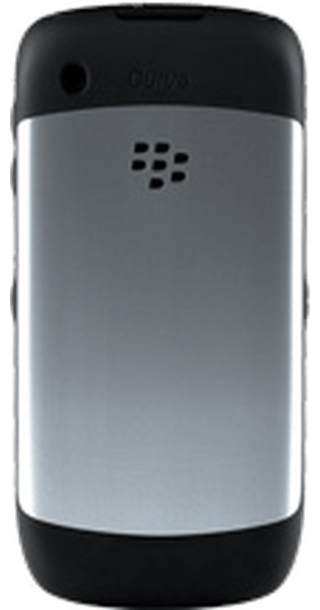 BlackBerry Curve 8520 Silver back