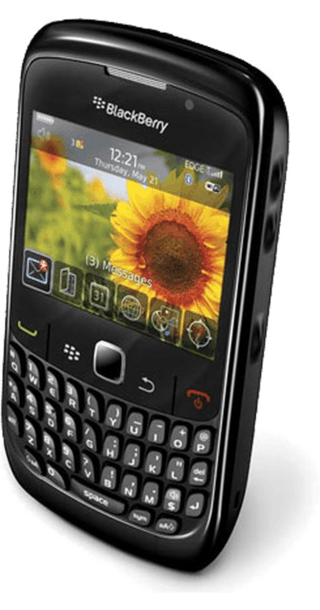 BlackBerry Curve 8520 back