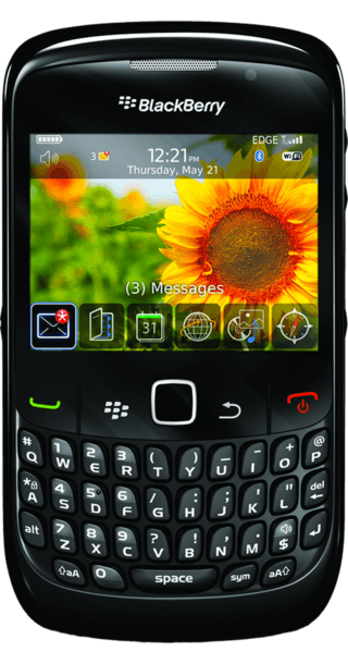 BlackBerry Curve 8520 front