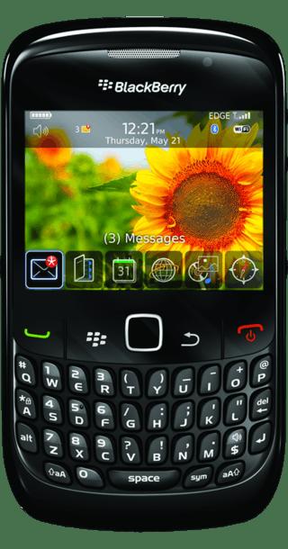 BlackBerry Curve 8520 front