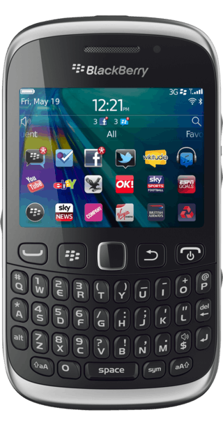BlackBerry Curve 9320 front