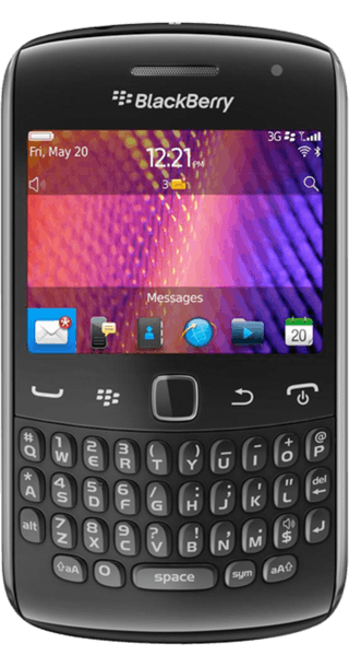 BlackBerry Curve 9360 front