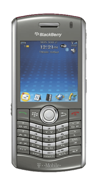 BlackBerry Pearl 8120 front