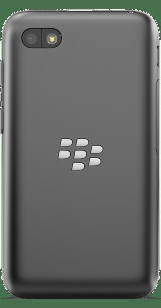 BlackBerry Q5 Red back