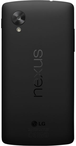 Google Nexus 5 back
