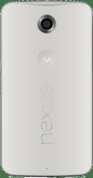 Google Nexus 6 64GB White back