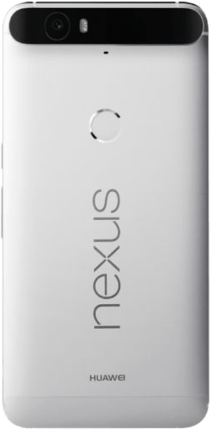 Google Nexus 6P 16GB Silver back