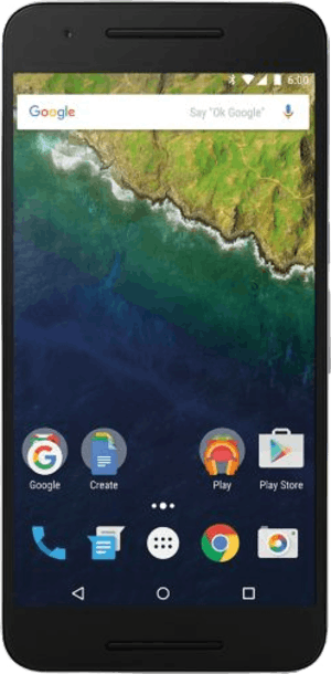 Nexus 6P 32GB Silver