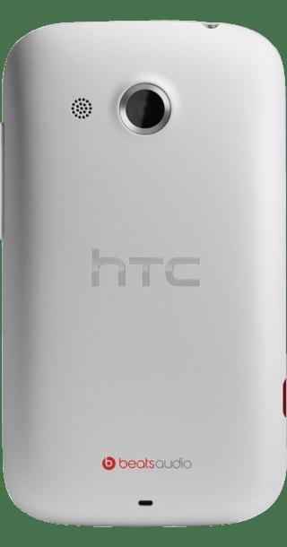HTC Desire C White back