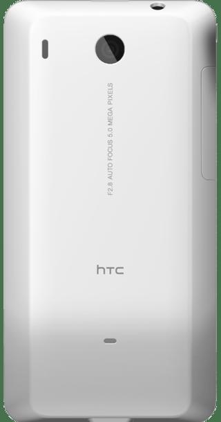 HTC Hero White back