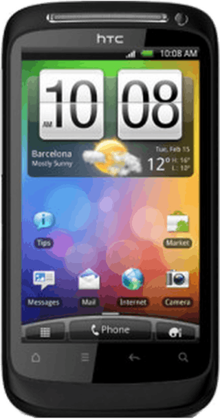 HTC Incredible S front