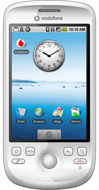 HTC Magic front