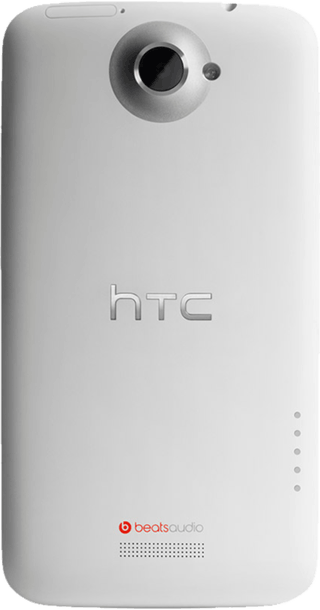 HTC One X White side