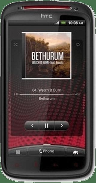 HTC Sensation XE front