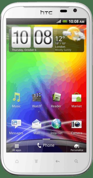 HTC Sensation XL front
