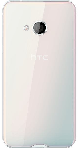 HTC U Play 32GB Ice White back