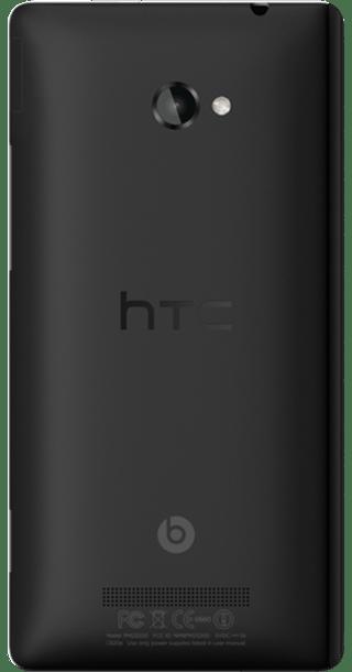 HTC Windows Phone 8X back