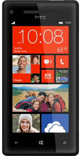 HTC Windows Phone 8X front
