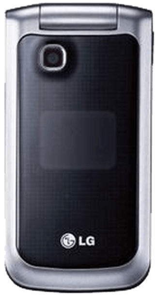 LG GB220 Silver front