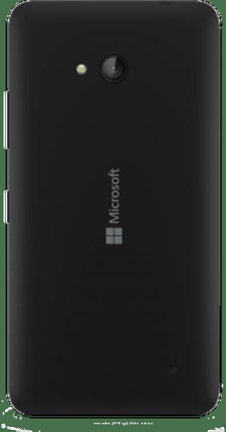 Microsoft Lumia 640 back