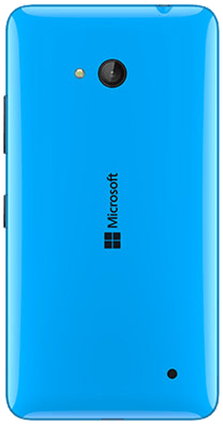 Microsoft Lumia 640 Blue back