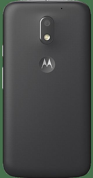 Motorola Moto E3 8GB Black back