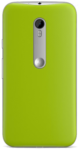 Motorola Moto G 2015 (3rd Gen) Green back