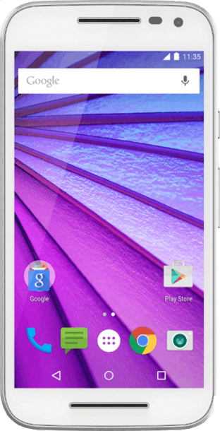 Motorola Moto G 2015 (3rd Gen) Green front