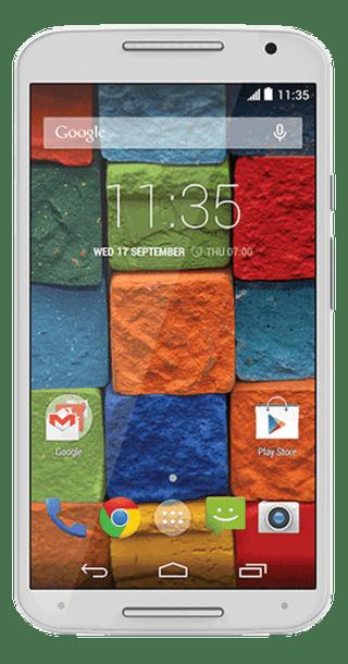Motorola Moto X 2014 White front