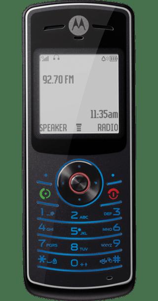 Motorola W156 front