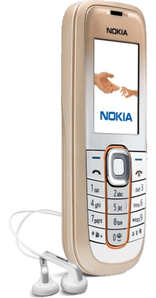 Nokia 2600 Classic Gold back