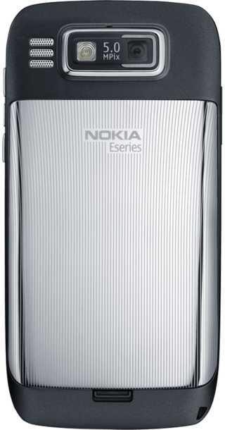 Nokia E72 Black back