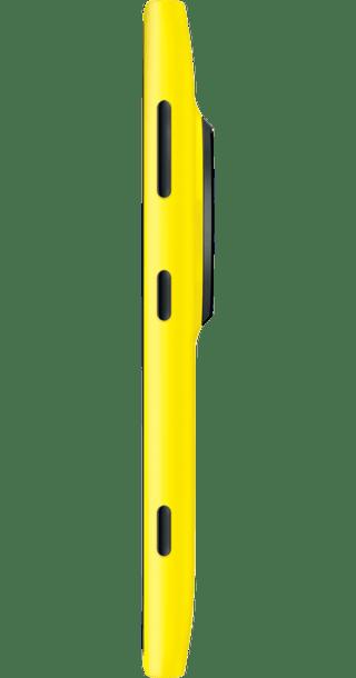Nokia Lumia 1020 Yellow side