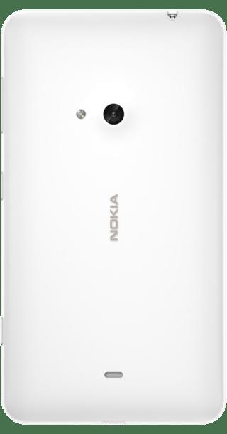 Nokia Lumia 625 White back