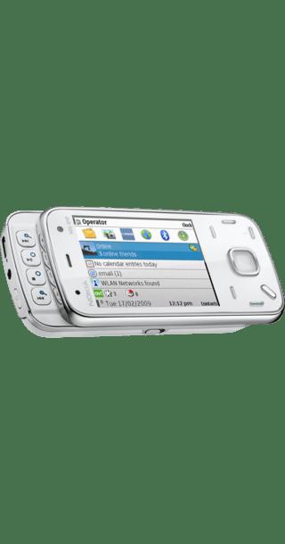 Nokia N86 White side