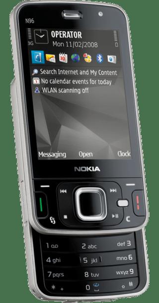 Nokia N96 Quartz back