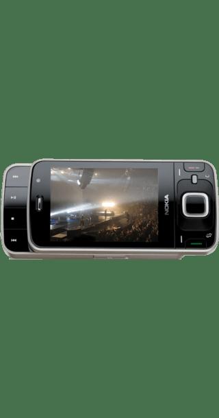 Nokia N96 Quartz side