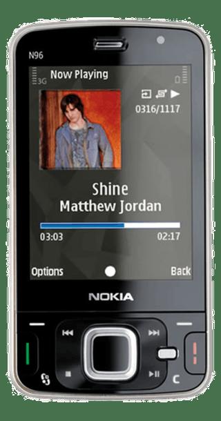 Nokia N96 Quartz front