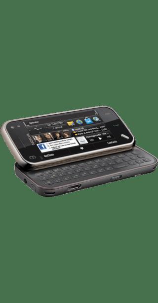 Nokia N97 Mini back